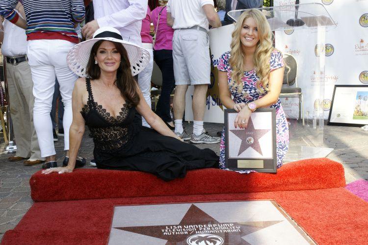 Lisa Vanderpump Honored With Golden Palm Star On Palm Springs Walk Of Stars