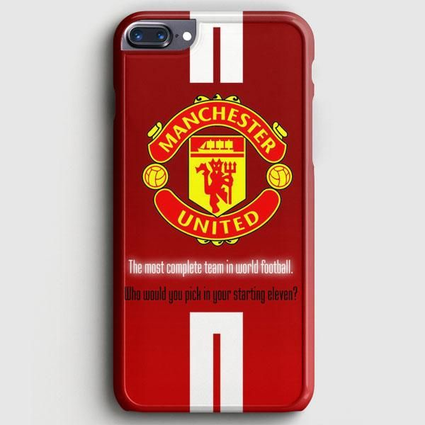 List of Nice Manchester United Wallpapers IPhone Manchester United Logo iPhone 8 Plus Case | casescraft