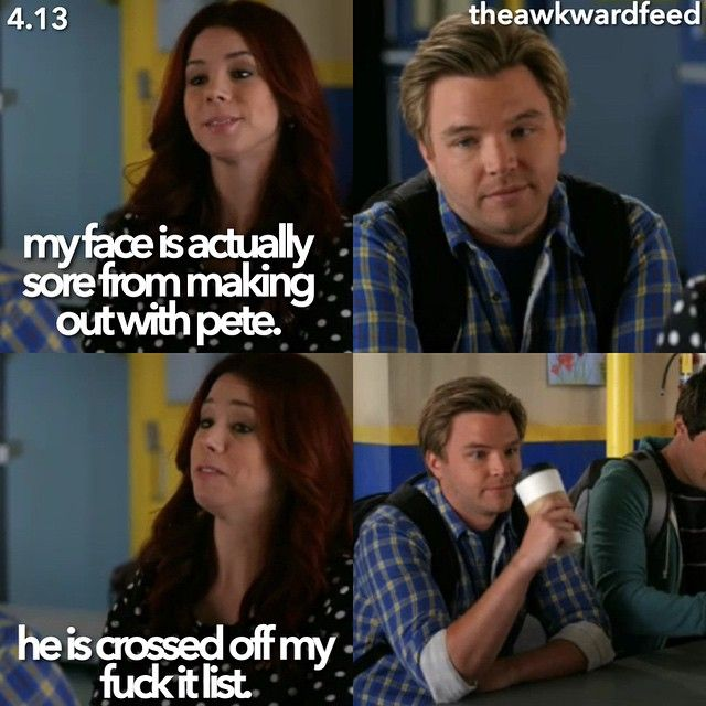 "#Awkward 4x13 ""Auld Lang Party"" - Tamara and Jake ...