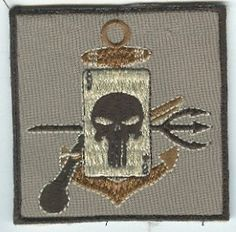 USN and USMC Special Operations Pocket Patches SEAL Team 8