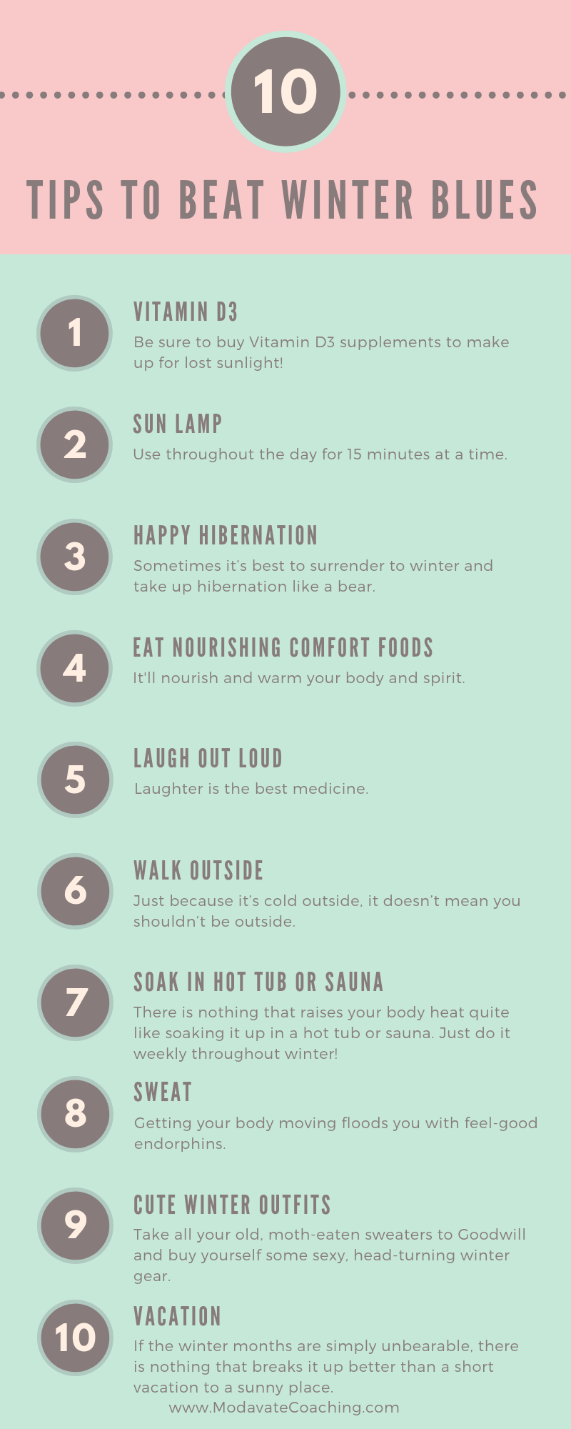 Beating Winter Blues >> 10 Tips To Beat The Winter Blues Modavate Coaching Wellness