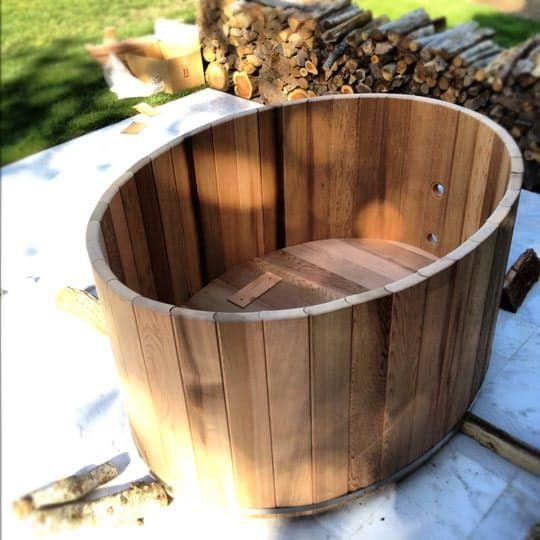 How To Assemble A Cedar Hot Tub Chofu Wood Stove Baignoire En