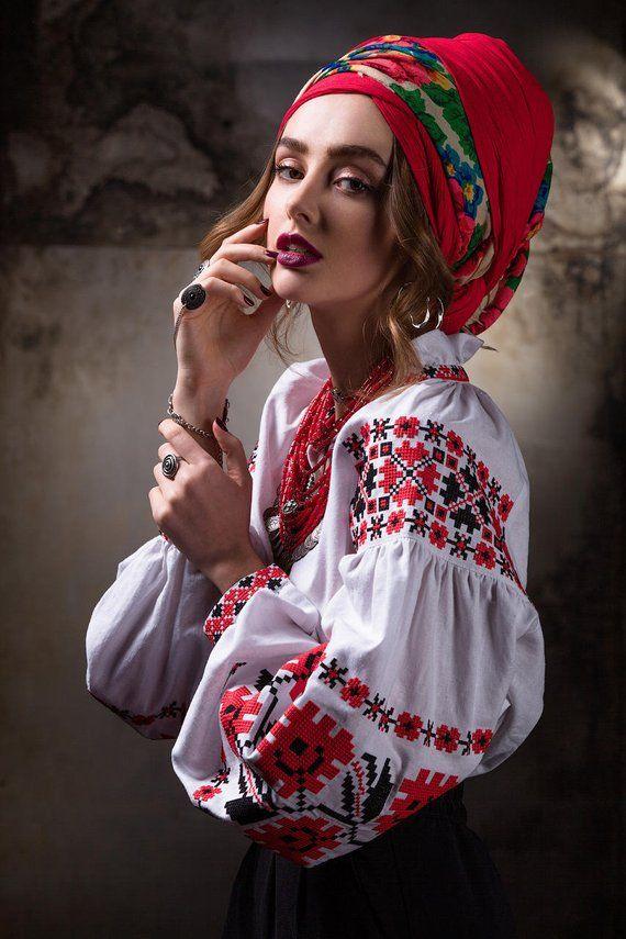 66a00e1d7eb9b4 Embroidered linen shirt woman. Vyshyvanka. Ukrainian embroidered blouse.  Embroider shirt. Ukrainian