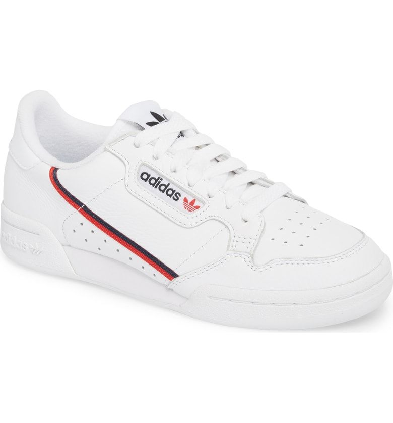 online retailer 43f8d e85c9 Free shipping and returns on adidas Continental 80 Sneaker (Women) at  Nordstrom.com. An updated version of a classic 80s look, adidass new  Rascal sneaker ...