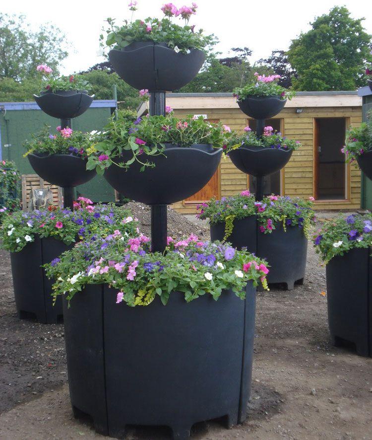fioriere da giardino originali