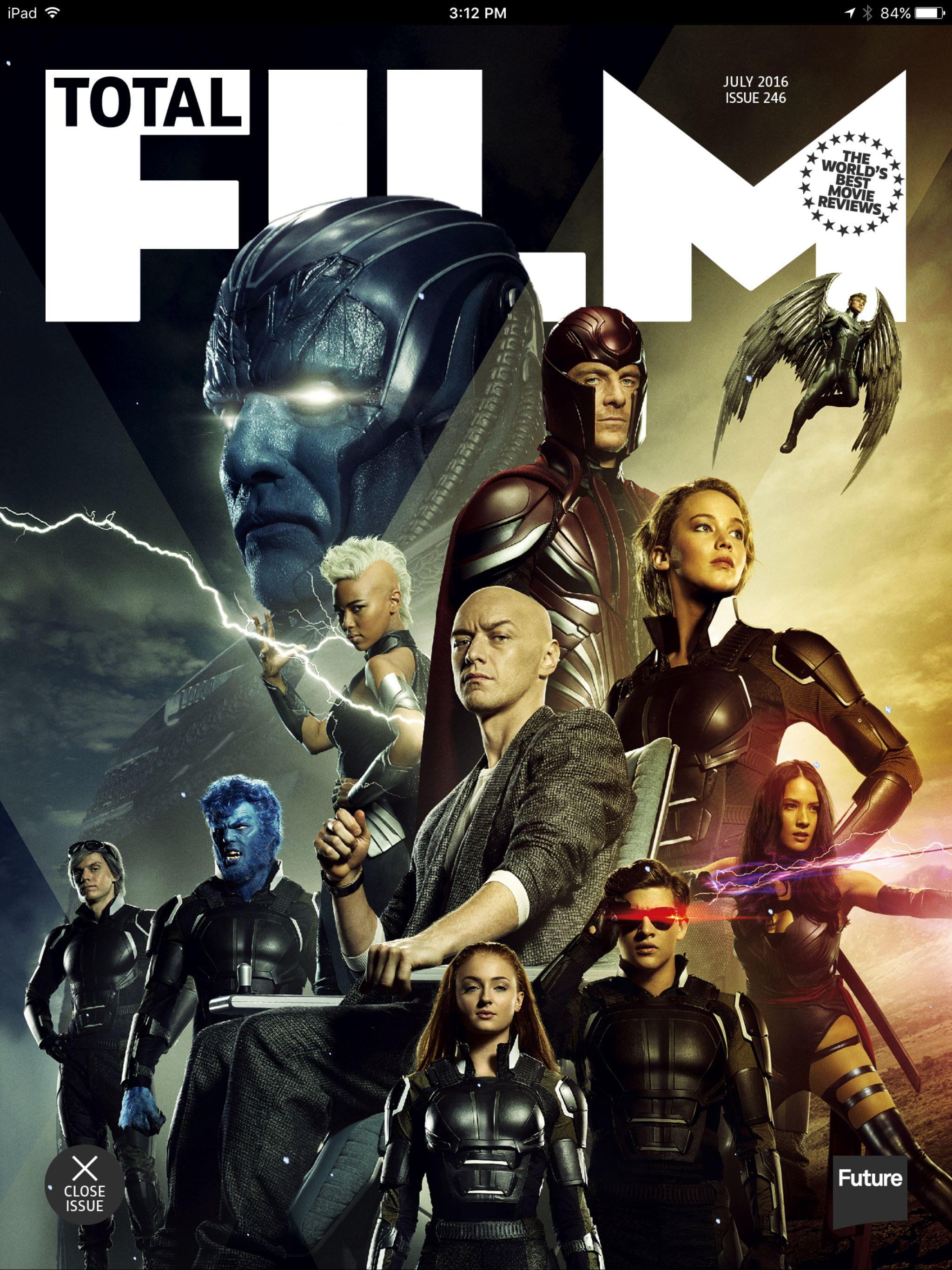 Total Film July 2016 X Men Apocalypse X Men Apocalypse Apocalypse Doctor Strange