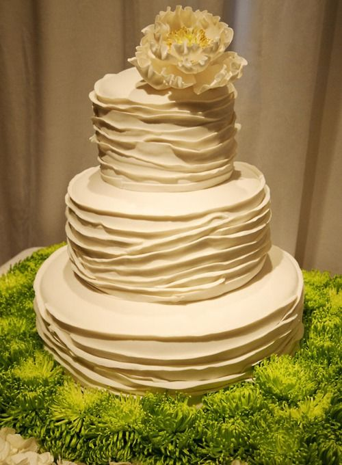 Urban/Vintage wedding cake - love the texture | Becoming Mrs ...