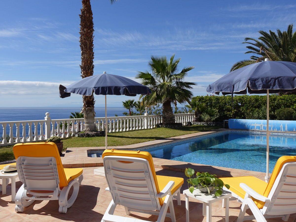 Villa Marquesa In Puerto De Santiago Holiday Home Tenerife Patio