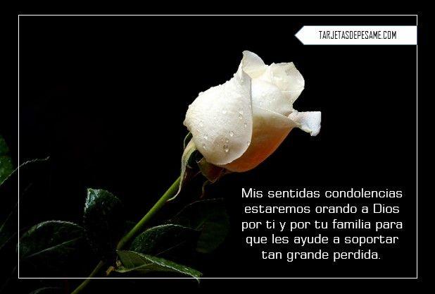 Frases Cristianas De Pésame Tarjetas Condolences Frases Y Movie