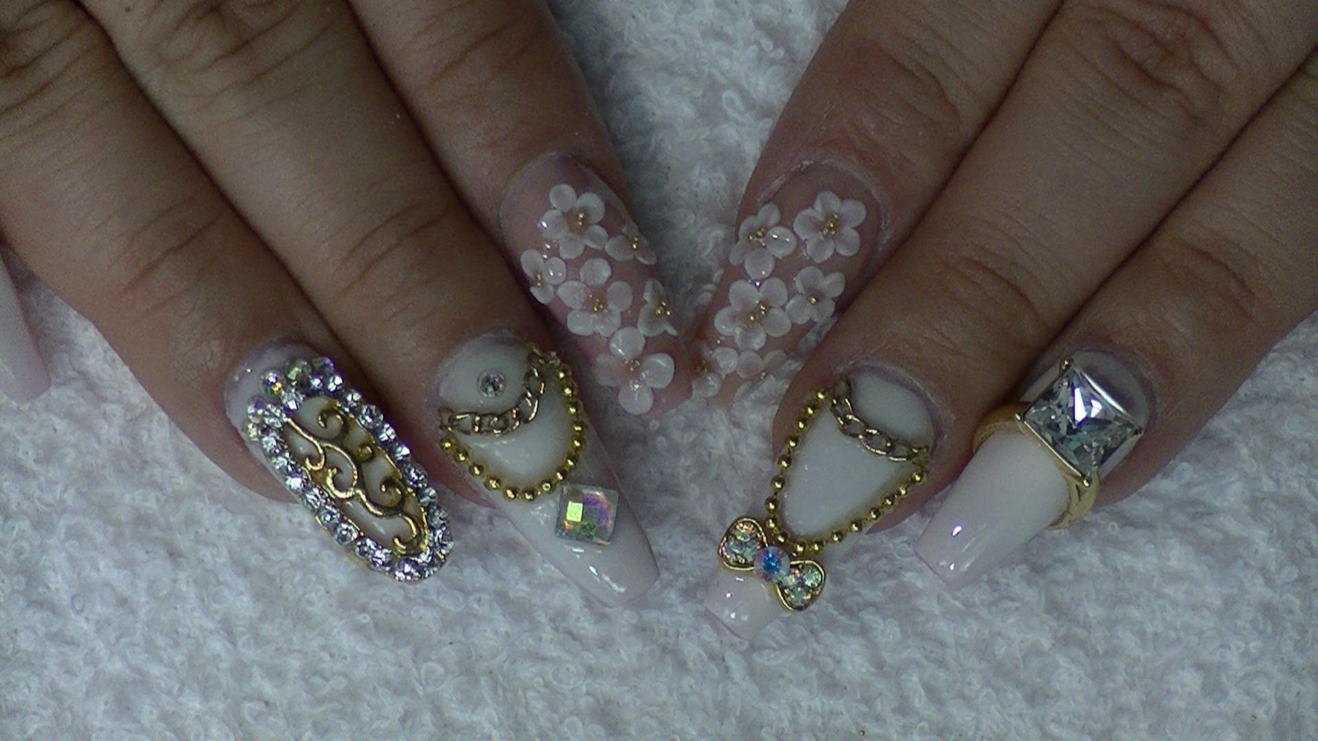 Marc Jacobs Inspired Coffin Nails | Uñas | Pinterest