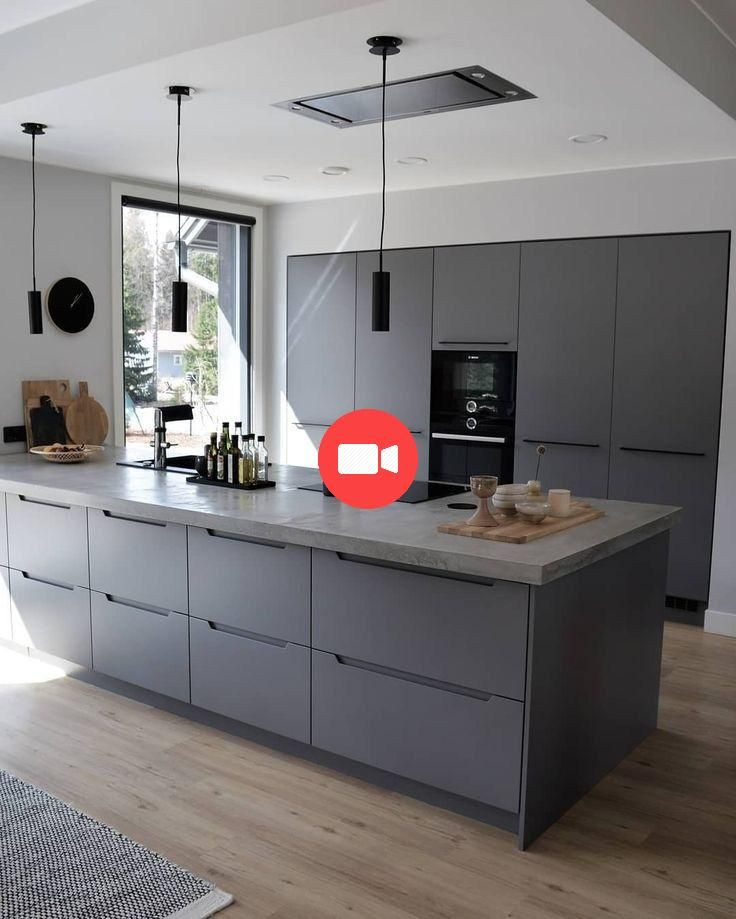 60 Noir Magnifique Cuisine Idees Pour Chaque Style De Decoration 2 Kitchendesign Ki Diseno Cocinas Modernas Diseno De Cocina Comedor Diseno Muebles De Cocina