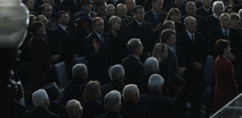 House of Cards's fourth wall — Medium