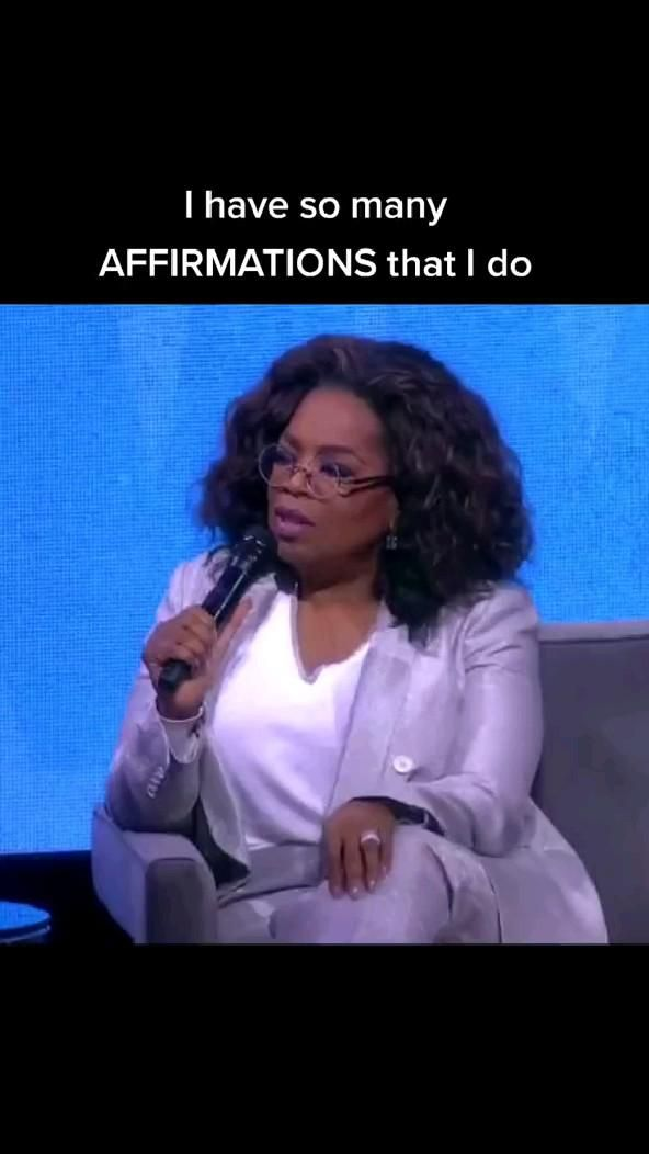 Use Affirmations.