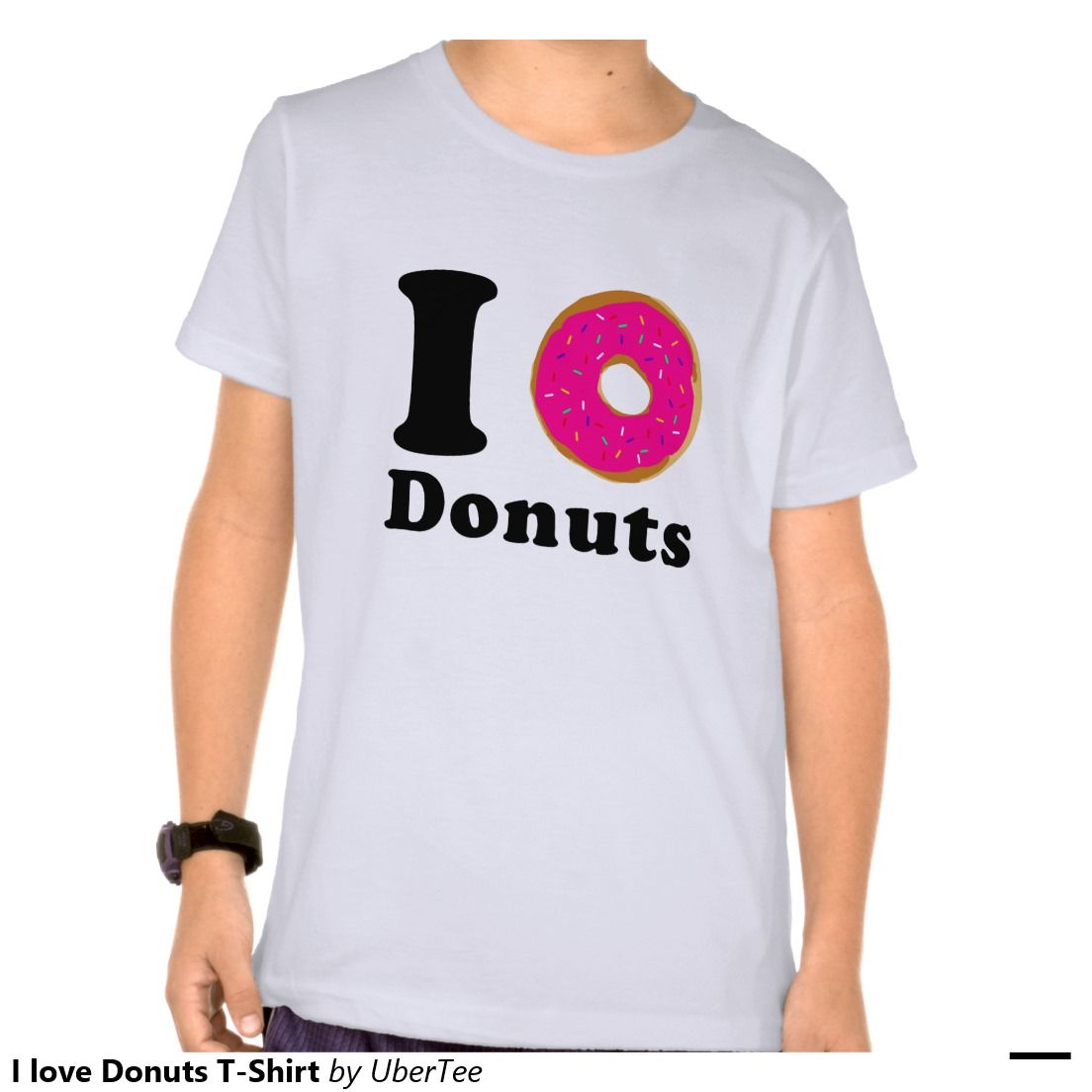 08a21809 I love Donuts Kid´s T-Shirt #donuts #donut #ilovedonuts #nationaldonutday  #tshirt #kid #doughnut