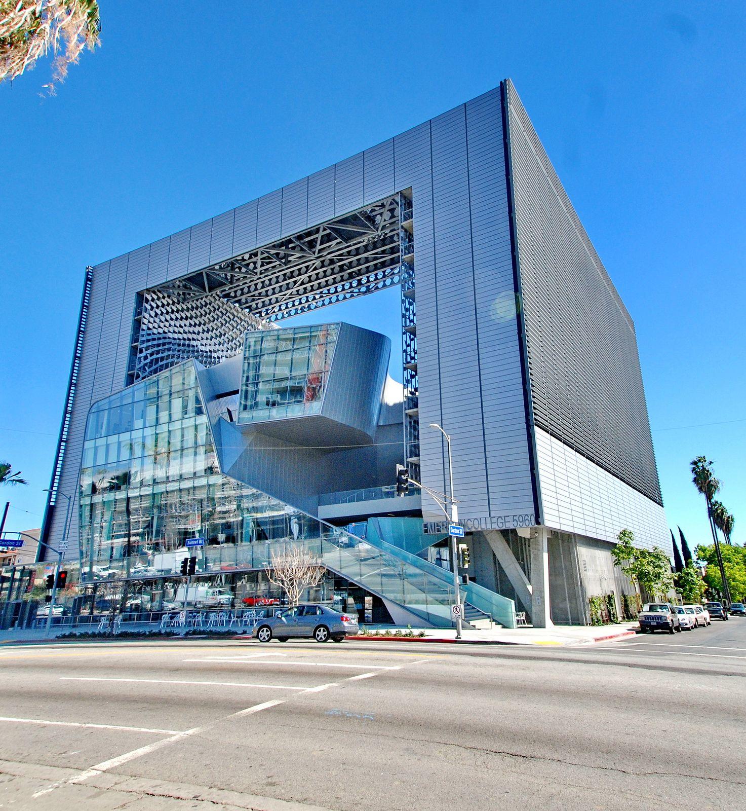 Emerson College Hollywood Campus Thom Mayne Morphosis 2014 City Architecture Architecture Architecture Model