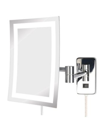 Jerdon The Jrt710cl 6 5 X 9 Led Lighted Wall Mount Rectangular