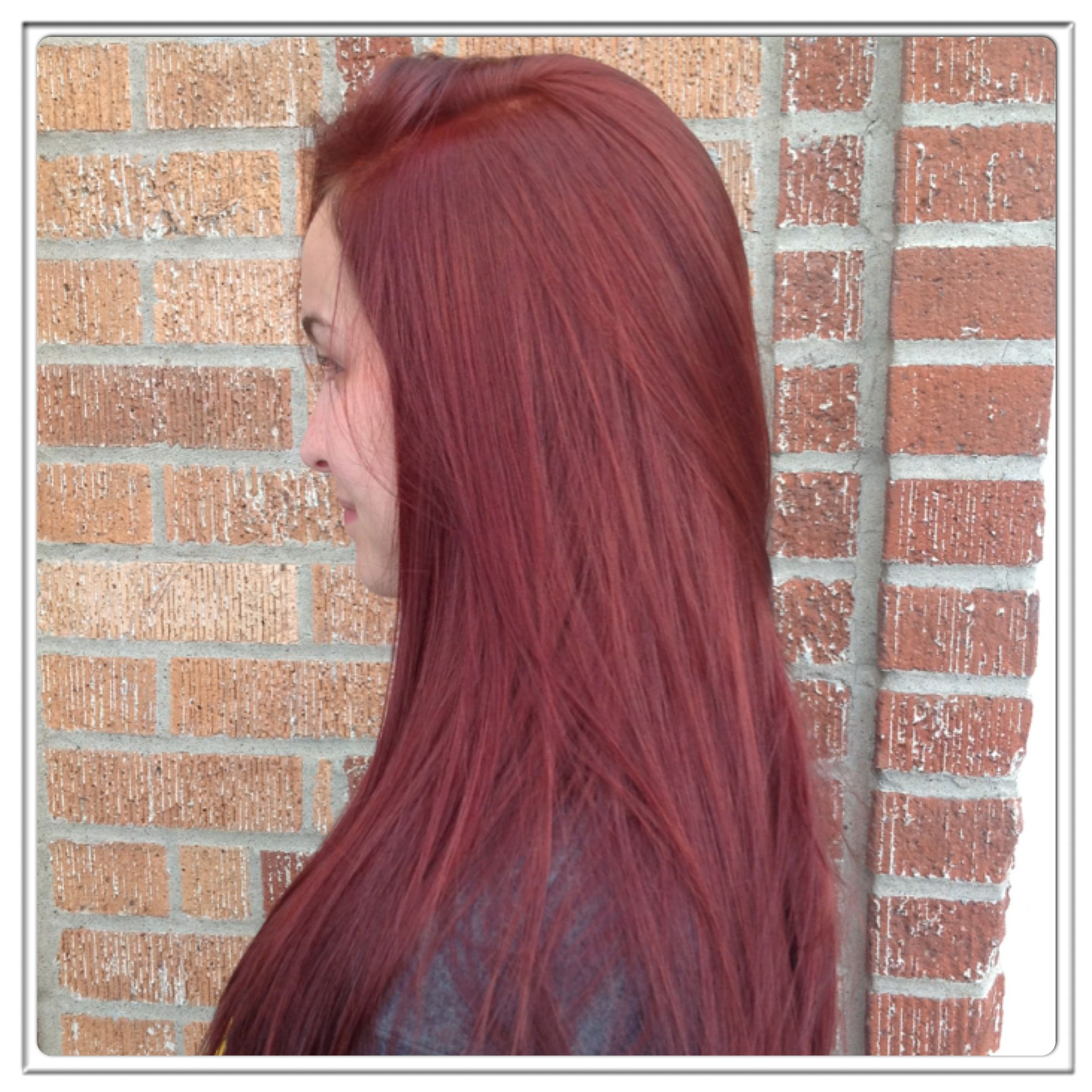 Pravana Chromasilk Color Formula 1part 752 1part 666 12