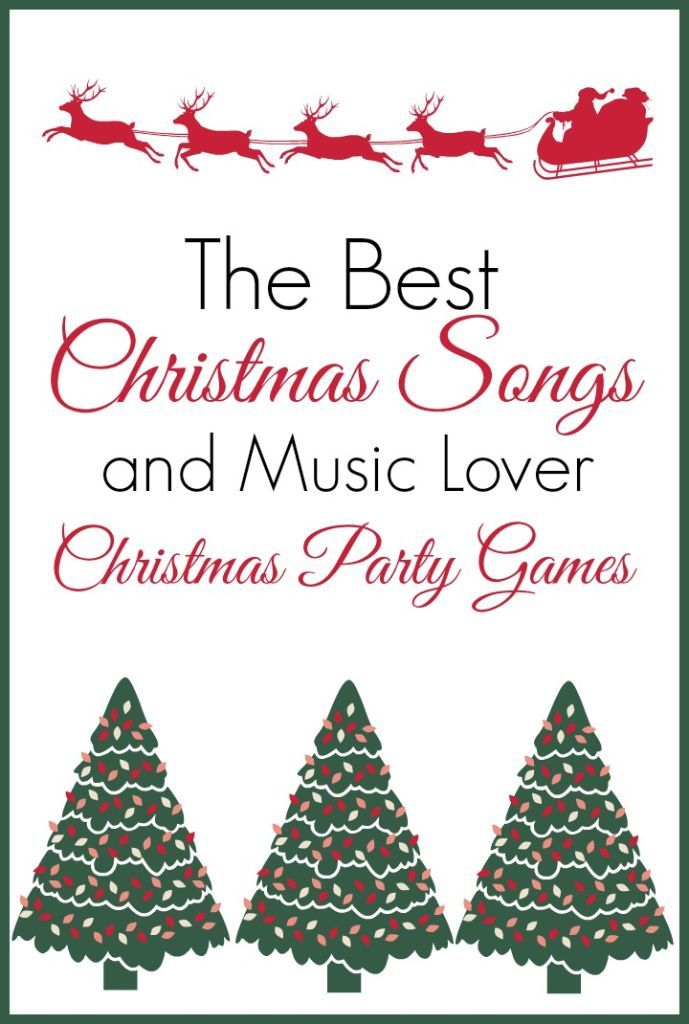 60 Of The Best Christmas Songs Ever Play Party Plan Best Christmas Songs Fun Christmas Party Games Popular Christmas Songs