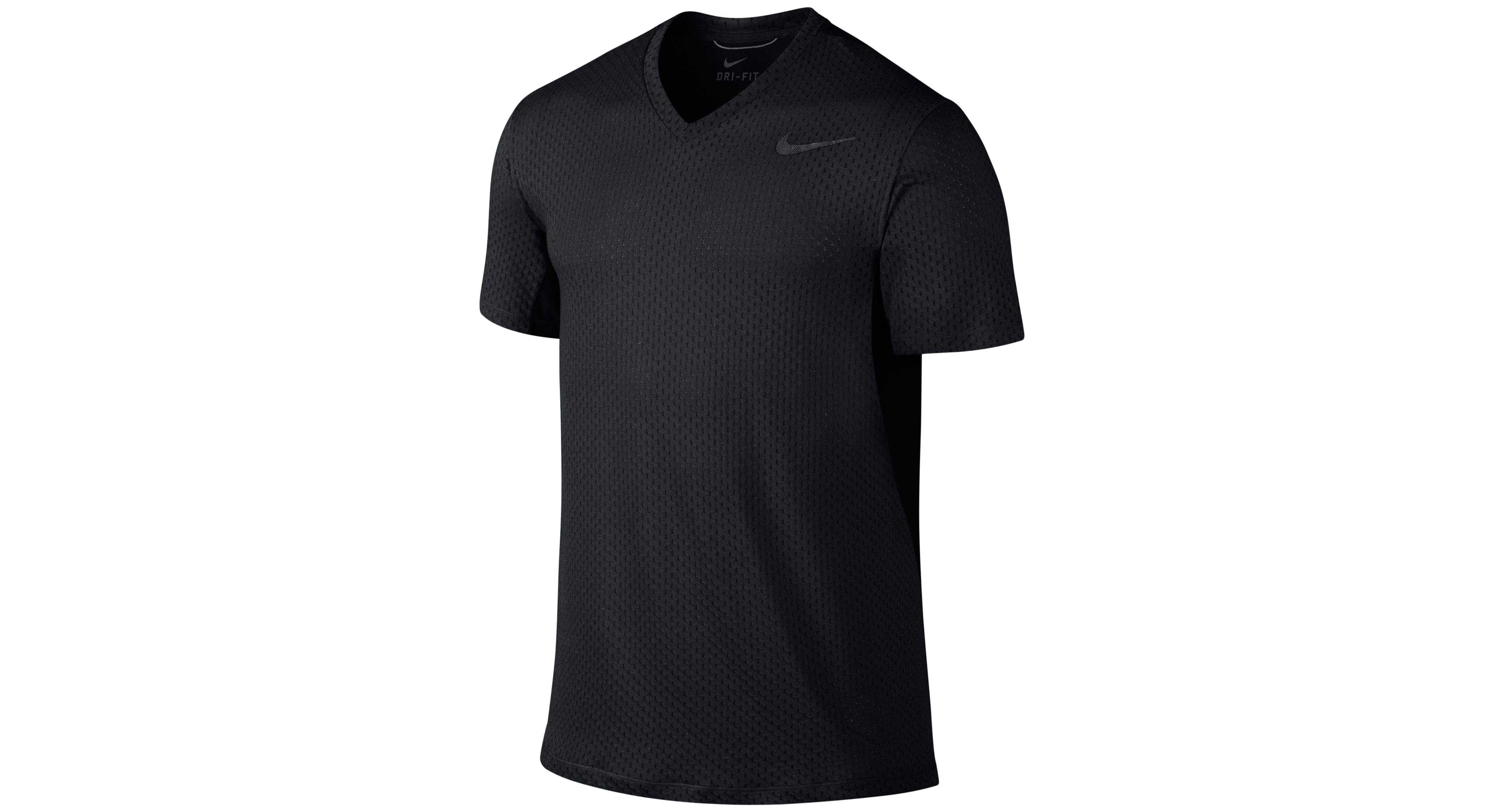 Nike Cool Dri-fit V-Neck Training T-Shirt