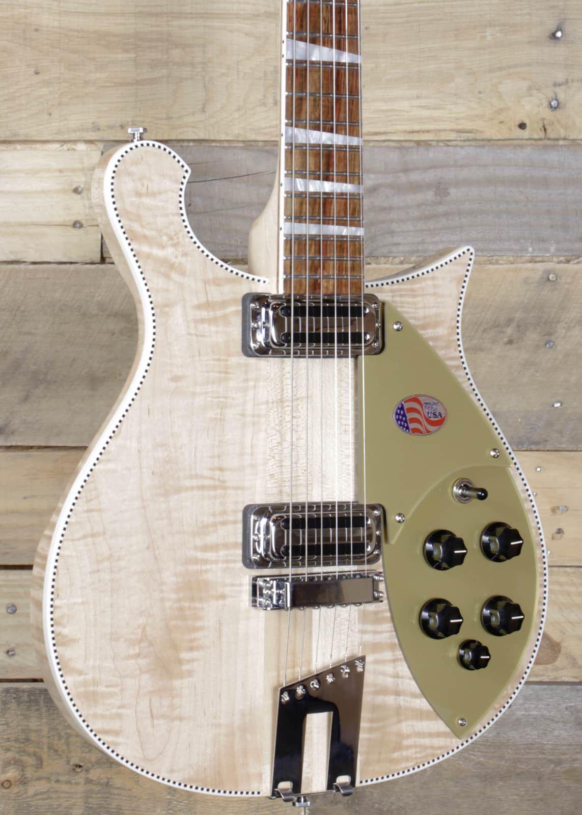 Rickenbacker 660 Electric Guitar Mapleglo Finish W Case Special