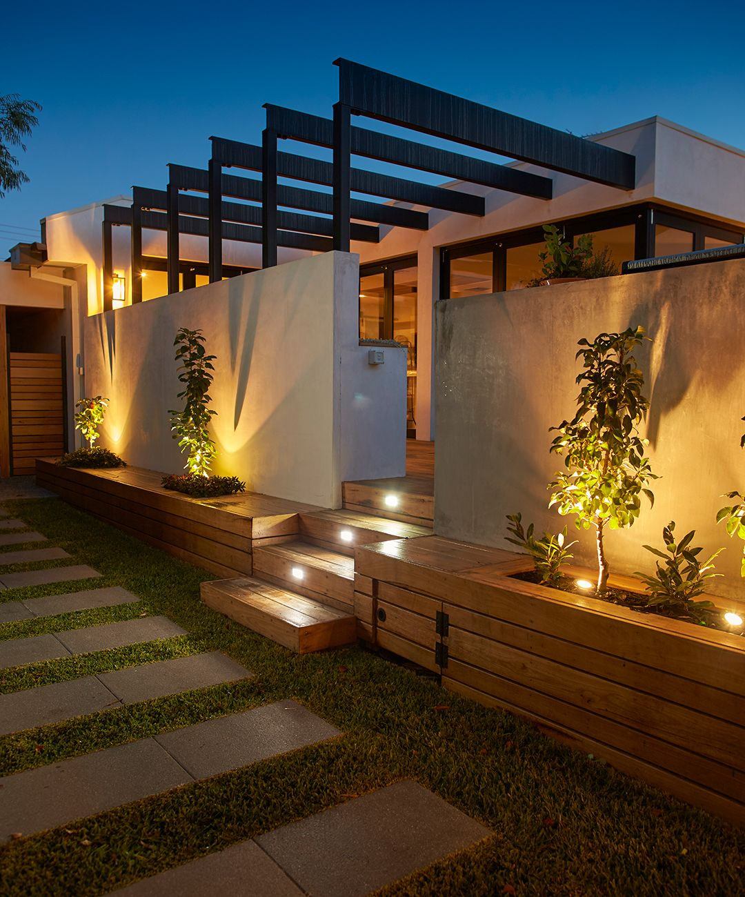 Make your home look good from day to night with outdoor