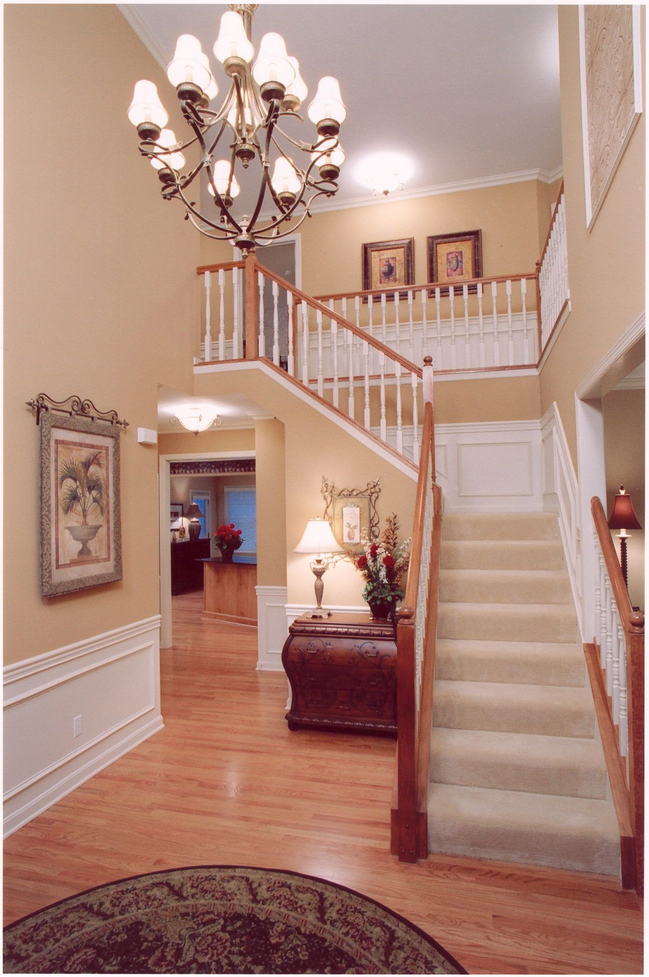 Story Foyer Pictures : Two story foyer my home pinterest foyers white trim