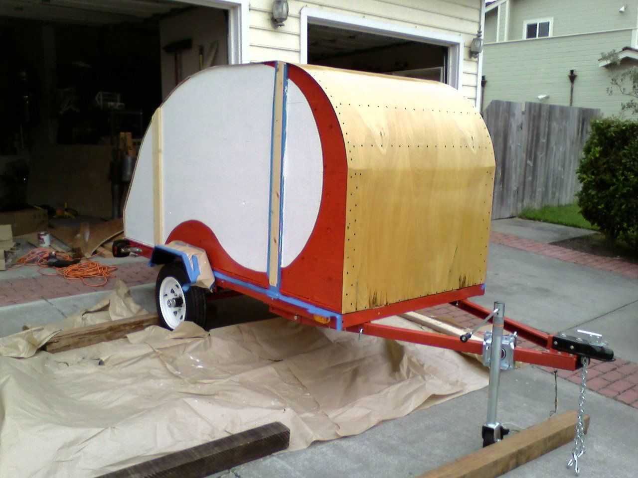 Build Your Own RV With Kits & Plans For Teardrop Trailers