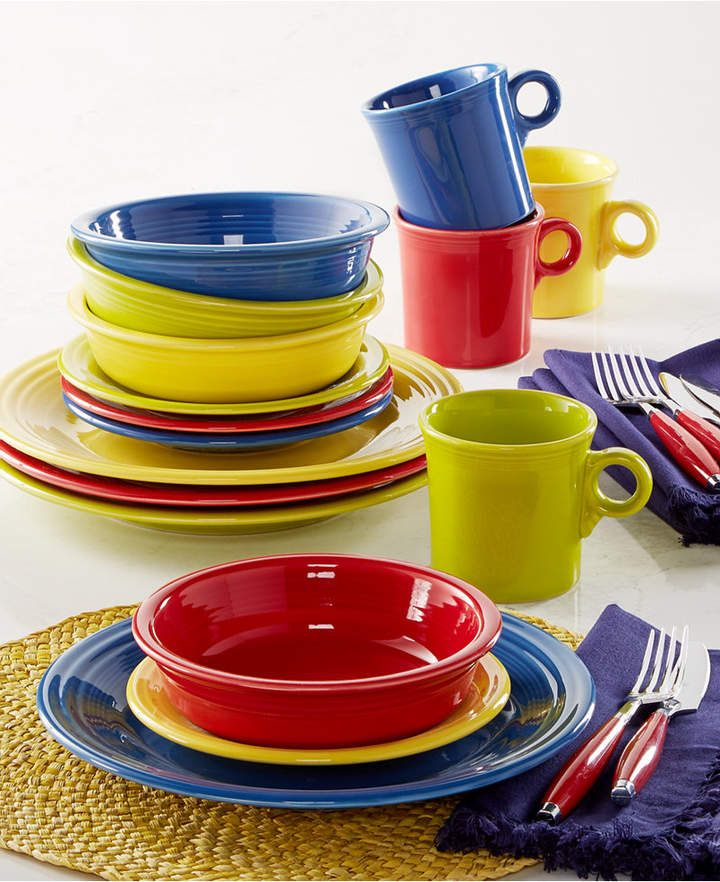 Applying 16 Bright Kitchen Paint Colors: Fiesta Macy's Exclusive! Fiesta Mixed Bright Colors 16
