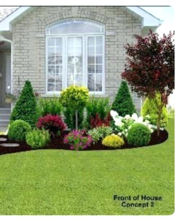 Garden Ideas Small Landscape Gardens Pictures Gallery: Image Result For Garden Under Front Window