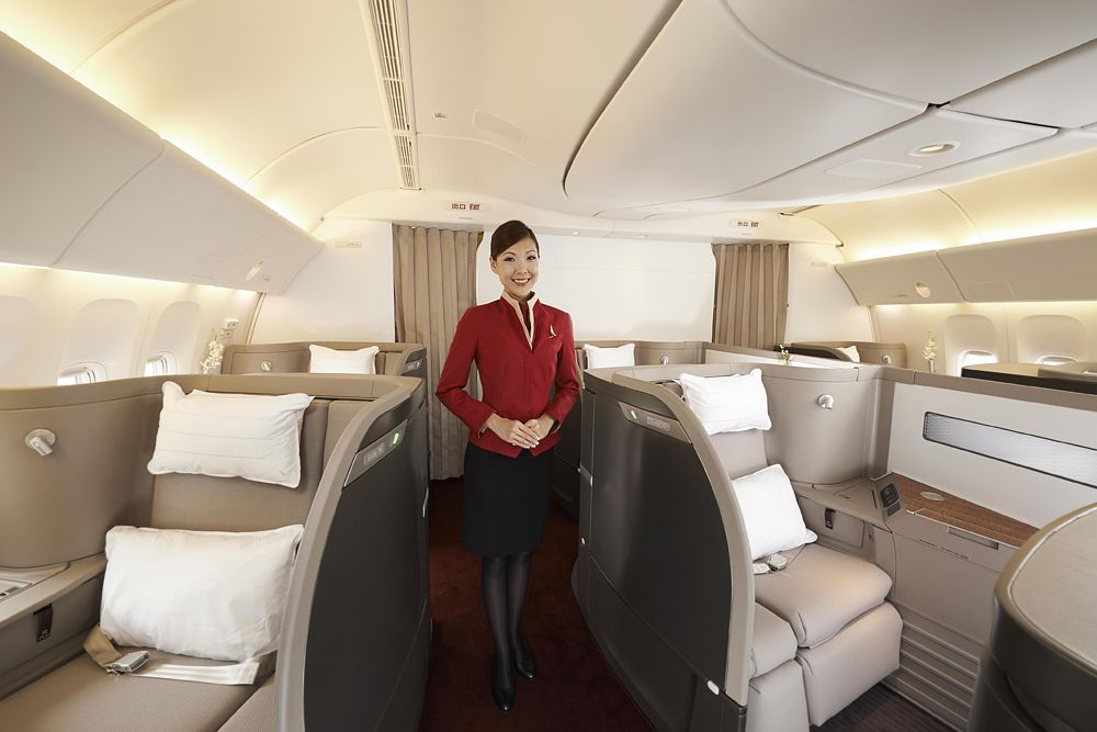 Top 10 Most Luxurious Airlines Best First Class Airline First Class Airline Cathay Pacific