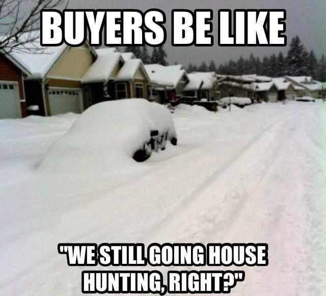 Gotta Love Selling In The Winter!