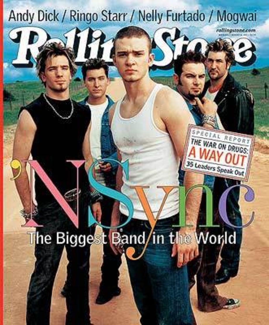 Image result for nsync rolling stone cover   American Rendition ...