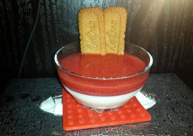 Strawberry panna cotta Recipe -  How are you today? How about making Strawberry panna cotta?