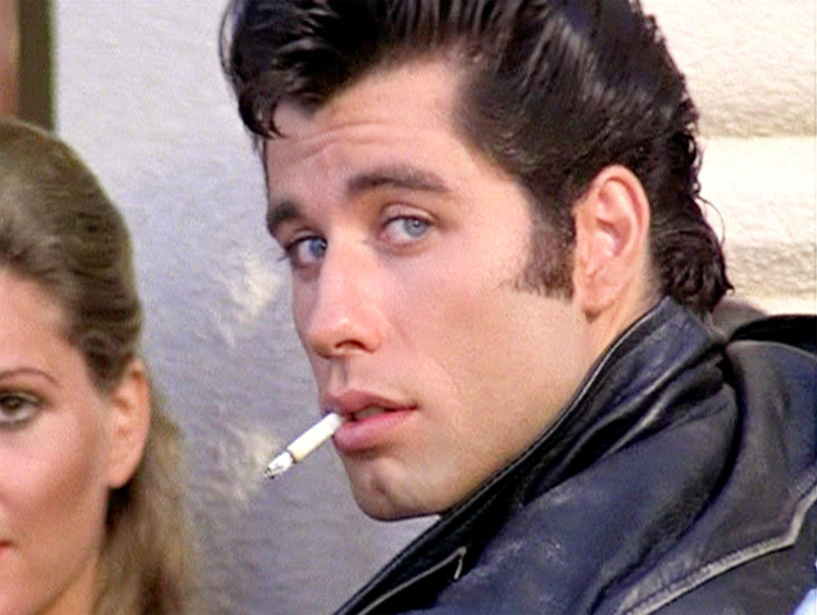 I Have A Crush On Him On Grease Hes Super Cute Danny Zuko Grease Danny Zuko John Travolta