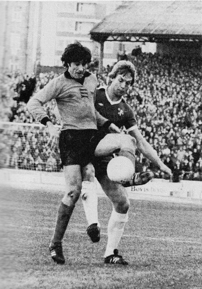7th May 1977. Wolverhampton Wanderers centre forward John Richards ...