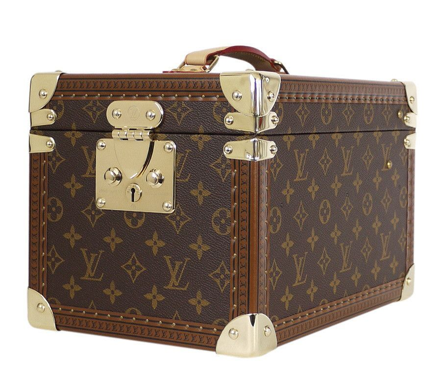 a12596849222 Louis Vuitton Boite Flacons Beauty Trunk Train Case M21828 ...