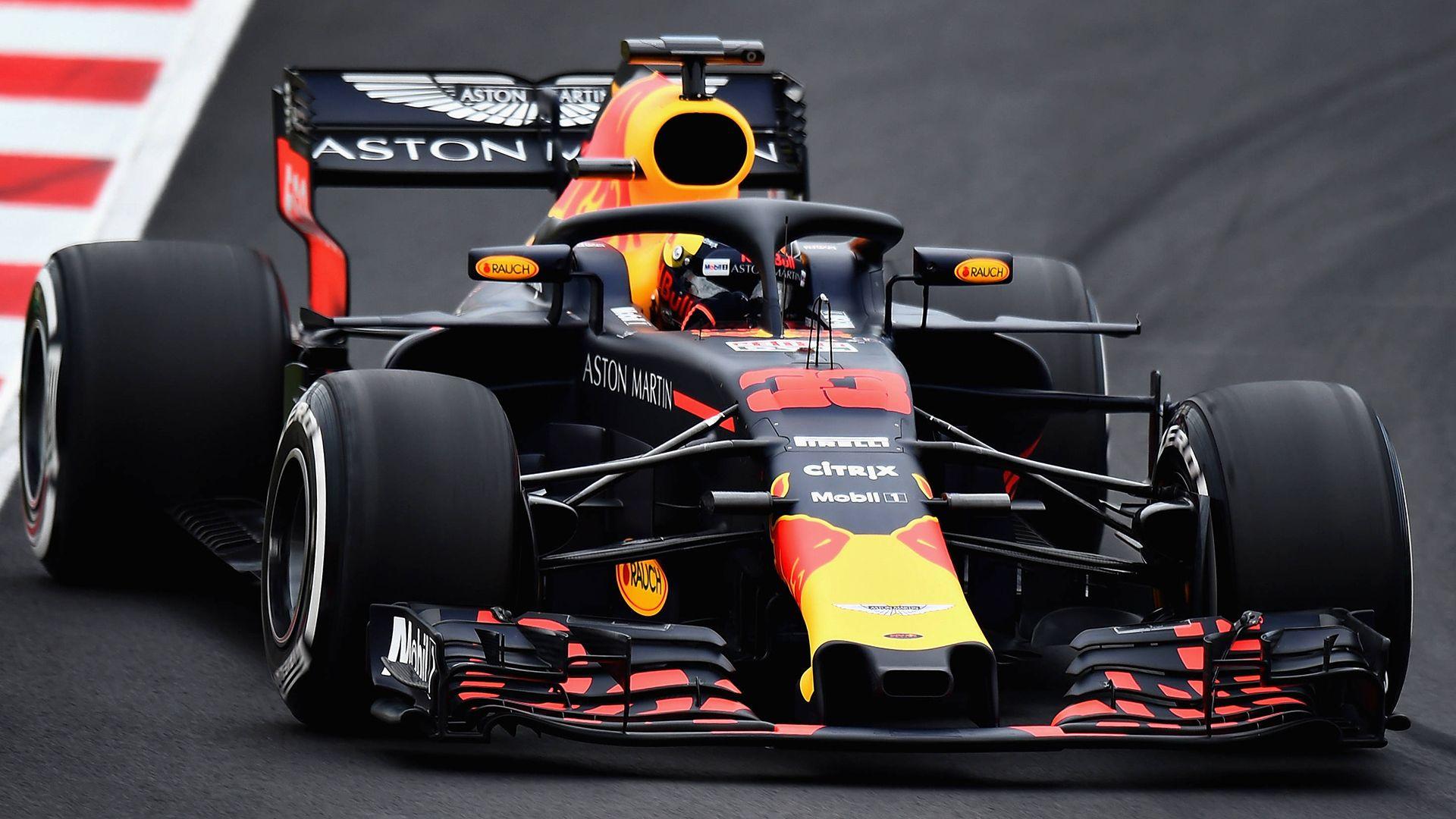 Max Verstappen Wintertest Rb14 Barcelona 27 02 2018 Formula1