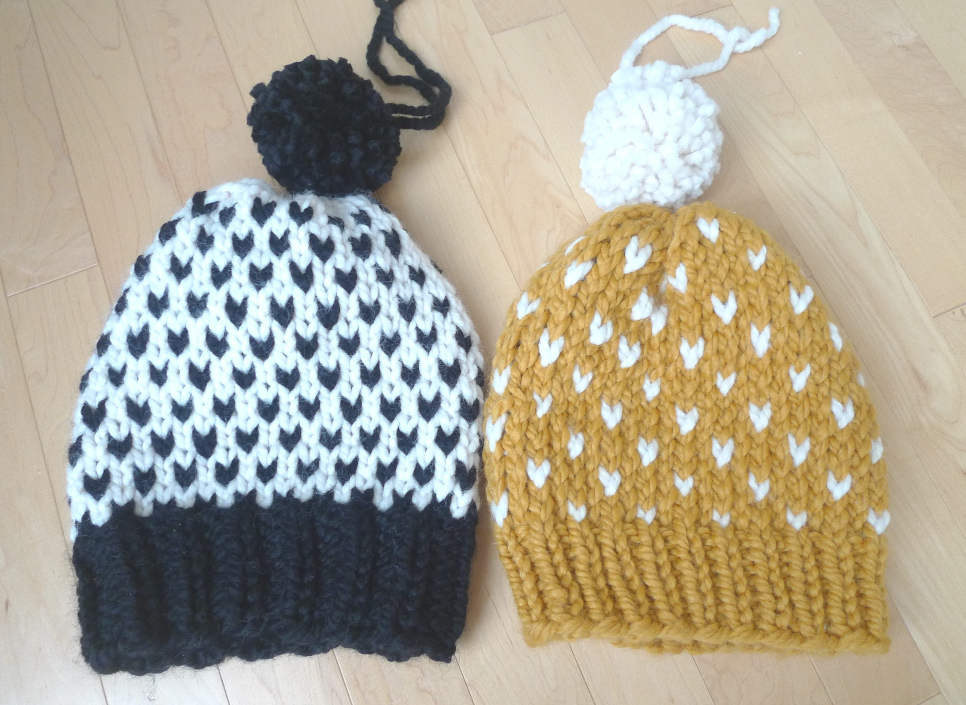 Knitted Fair Isle Hats | textiles: knitting projects and resources ...