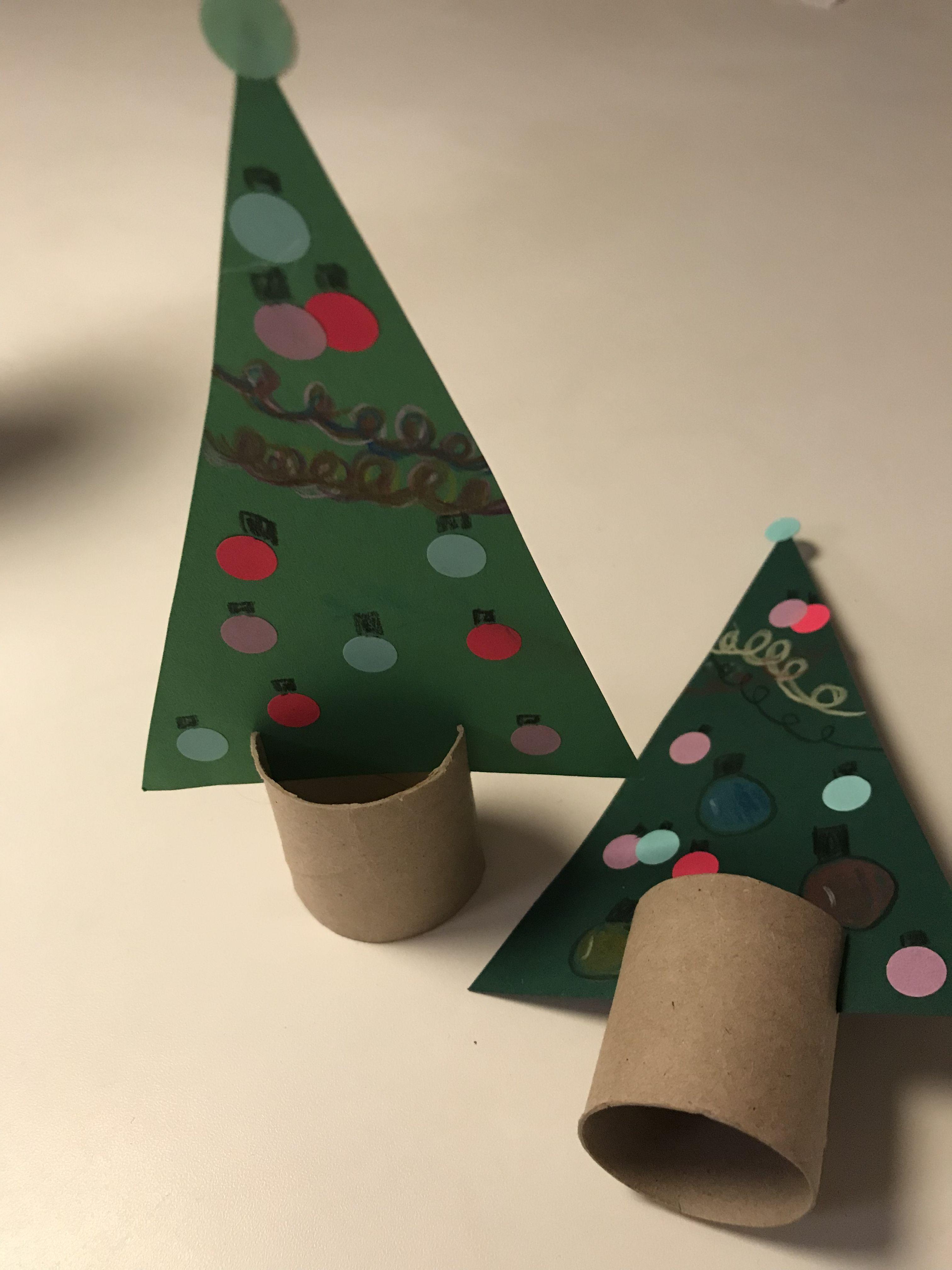 Trekanter - juletræer #kreativjulepynt