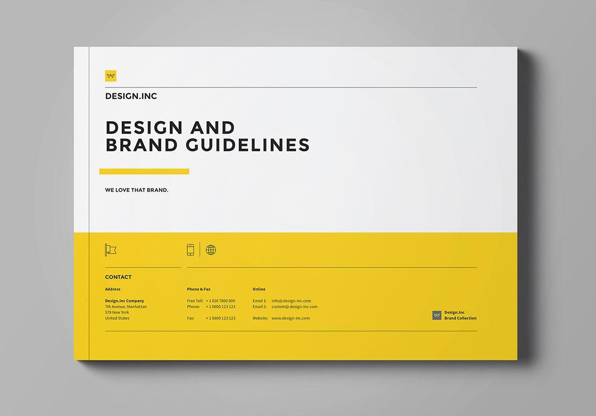 brand guideline document template designer egotype branding pinterest brand guidelines