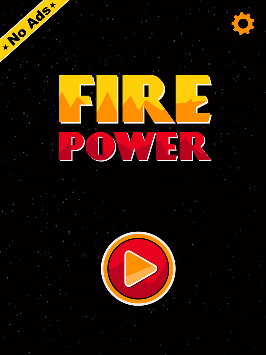 Fire The Power is fully offline endless and challenging