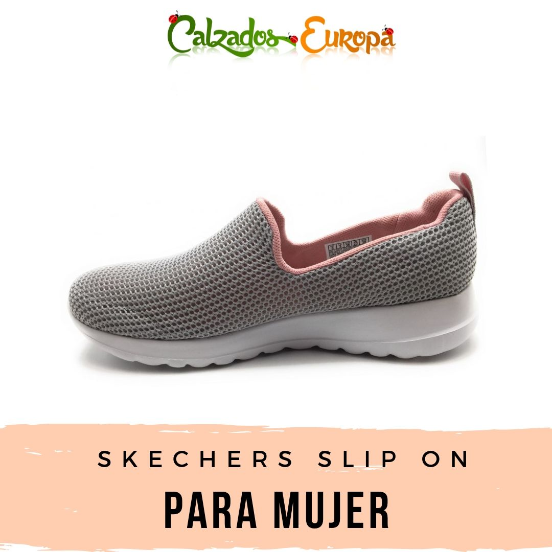 Skechers slip on señora 15637 color gris en 2019 | Zapatos