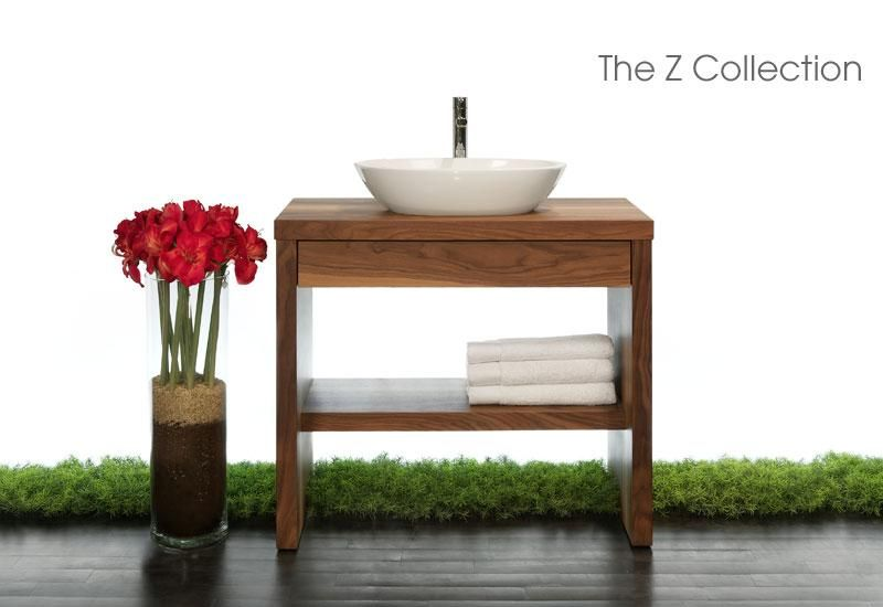 Z Collection Furniture Wetstyle Wooden Bathroom Modern Bathroom Vanity Modern Bathroom