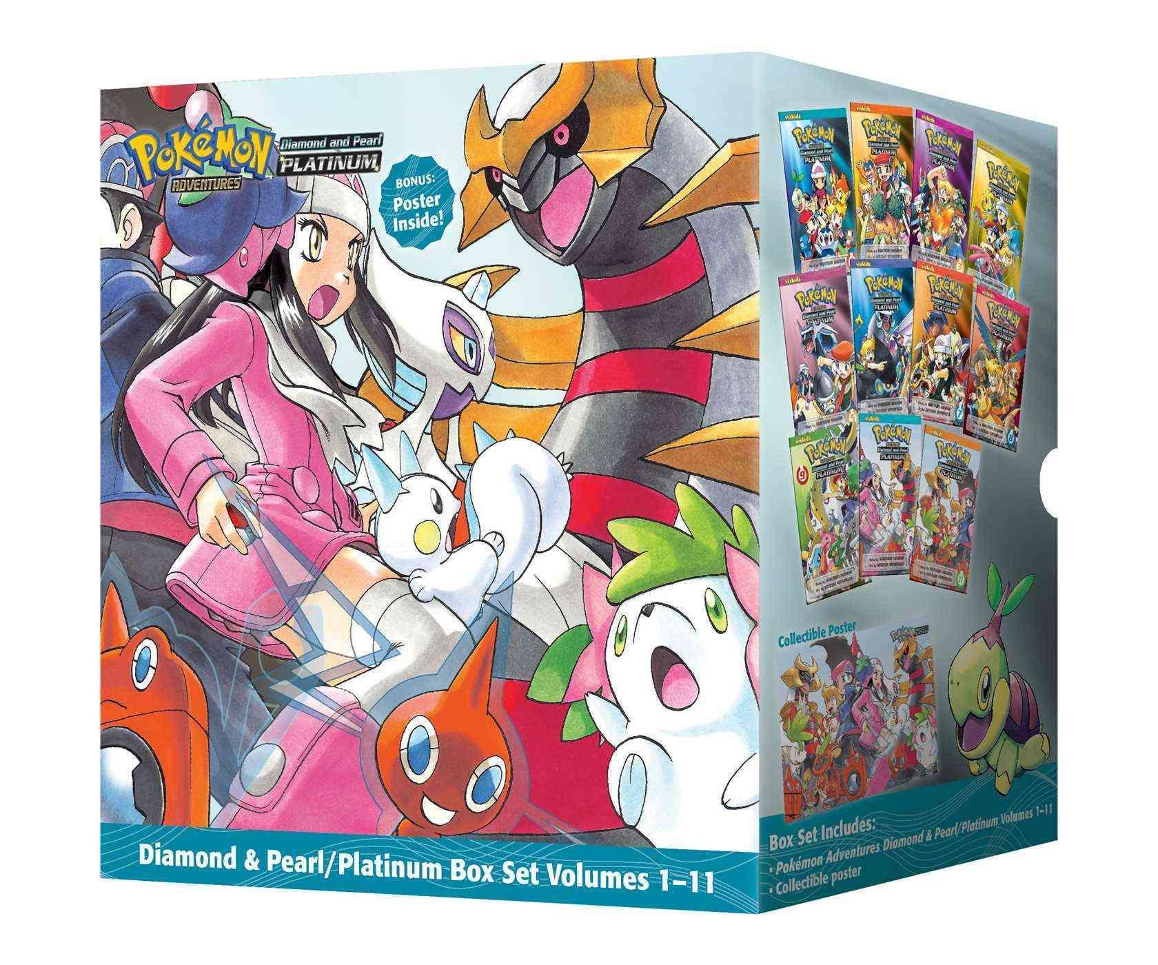 pokemon adventures diamond and pearl platinum (paperback