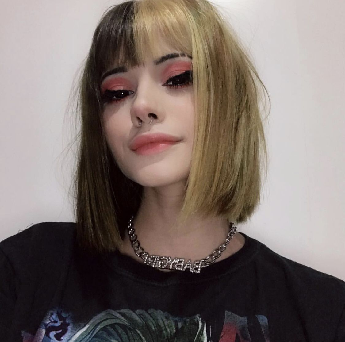 If You Think About Her All The Time She Is Probably A Witch Dyedhair Alternative Hair Inspo Color Split Dyed Hair Alternative Hair