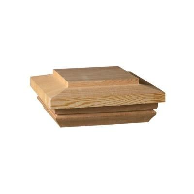 Weathershield Hampton 4 In X 4 In Pressure Treated Wood Pyramid Post Cap 58670 Fence Post Caps Wood Fence Post Deck Posts