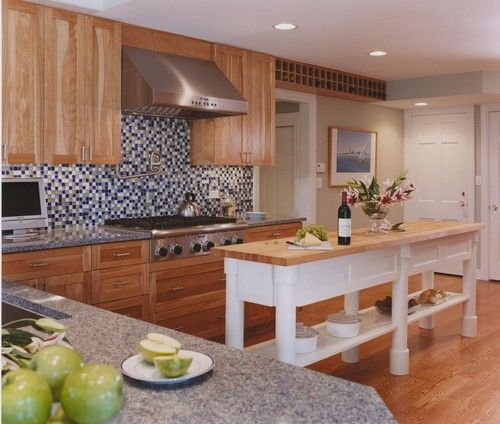 Kitchen Island Narrow unique islands for small kitchens | long-wooden-kitchen-island