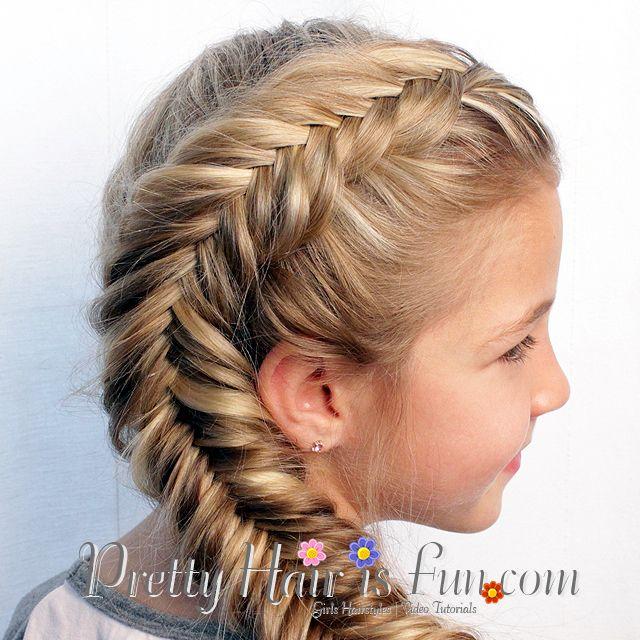 Pretty Hair Is Fun Side Dutch Fishtail Braid Hot Hair Styles