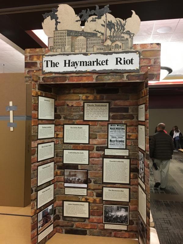Photo of History Fair – Display Board Examples