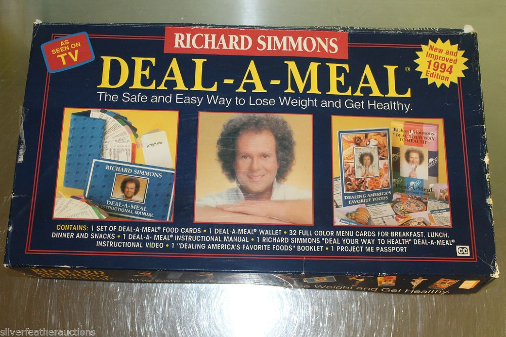 1994 Richard Simmons Deal A Meal Kit 1993 Diet Weight Loss Program